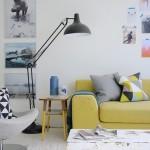 5-canapea galbena decor living modern accente vintage retro
