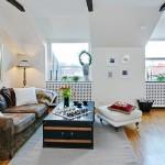 5-canapea living stil scandinav apartament 3 camere mansarda