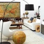 5-canapea veche chesterfield integrata in decor living modern