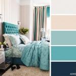5-combinatie de bej gri si turcoaz decor dormitor