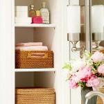 5-cosuri si cutii impletite pentru depozitarea si ogranizarea obiectelor de igiena intima din baie