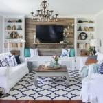 5-covor cu imprimeu asortat canapelei si pernutelor decorative din living
