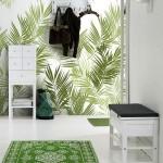 5-covor-verde-asortat-cu-tapetul-decorativ-cu-imprimeu-verde-de-pe-hol