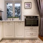 5-cuptor electric incorporat amenajare bucatarie deschisa spre living apartament mic