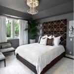 5-dormitor elegant decorat in gri si maro ciocolatiu