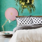 5-dormitor matrimonial cu pereti culoare turcoaz