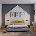 5-dormitor matrimonial modern stil scandinav amenajat in alb si gri