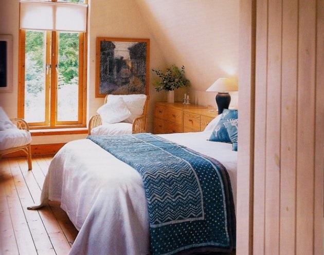 5-dormitor mic amenajat in stil rustic