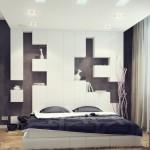 5-dormitor minimalist amenajat in alb si negru