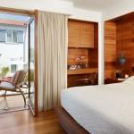 5-dormitor modern cu pereti placati cu lemn