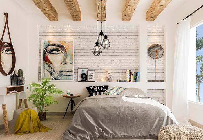 5-dormitor tineresc caramida aparenta alba