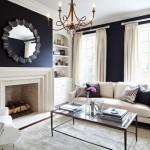 5-draperii alb crem decor living indraznet amenajat in alb negru cu accente aramii