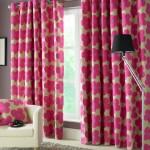 5-draperii imprimeu floral fuchsia decor living modern