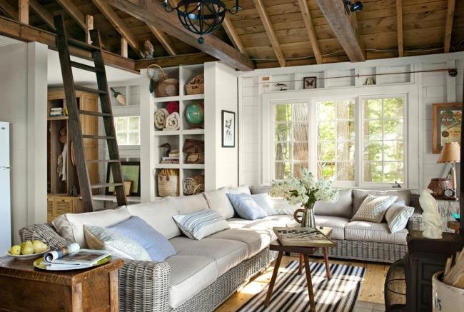 5-dupa transformare living country confortabil cu mobilier impletit si multe spatii de depozitare