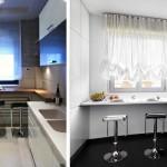 5-exemple de amenajare loc de luat masa in bucatarii mici de apartament