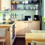5-exemplu amenajare bucatarie mica mobilier pe colt design modern