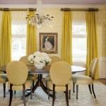 5-exemplu de asortare a draperiilor de la ferestre cu imprimeul galebn de pe tapet