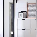 5-exemplu de mobilare minimalista a unui hol mic
