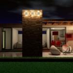 5 exterior casa structura metalica parter 2 camere - Start House