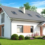 5-fatada proiect casa parter si mansarda model 2018