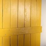 5-foaie de usa glisanta DIY vopsita pregatita pentru a fi montata pe sina