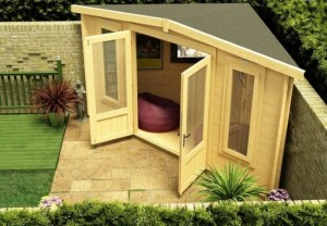 5-foisor loc de joaca acoperit construit in curtea gradinii