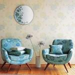 5-fotolii cu tapiteria asortata tapetului decorativ si covorului