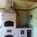 5-gratar de gradina cu plita pentru bucataria de vara