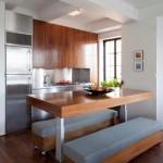 5-idei amenajare bucatarie moderna minimalista cu loc de luat masa