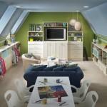 5-idei amenajare camera de joaca si relaxare pentru copii in mansarda