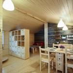 5-interior casa modulara prefabicata DD26 cu baie bucatarie si dormitor