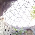 5-interior cupola dom geodezic Biodomes