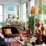 5-living cu prea multe decoratiuni imprimeuri si accesorii