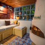 5-living relaxant amenajat in garajul unei case din Brasov