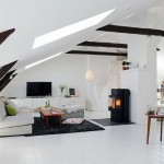 5-living scandinav minimalist amenajat in mansarda