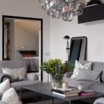 5-loc de conversatie living apartament cu 4 camere din Stockholm