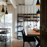 5-loc de luat masa bucatarie casa moderna din containere maritime