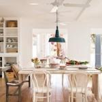 5-loc de luat masa interior casa rustica stil mediteranean Formentera