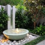 5-mini cascada si fantana arteziana gradina frumoasa de inspiratie asiatica