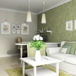 5-mobila alba decor modern si elegant living apartament 2 camere