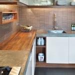 5-mobila forma L bucatarie moderna mansarda