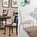 5-mobilier din sticla pentru a evita aglomerarea vizuala a spatiului