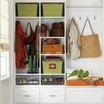 5-mobilier hol cu sertare cuiere rafturi si bancuta care poate fi dotat cu usi