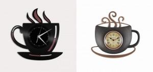 5-modele ceasuri de bucatarie in forma unor cesti de cafea