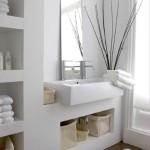 5-nise din gips carton spatii de depozitare baie