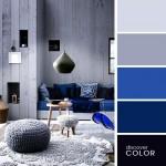 5-paleta cromatica formata din combinatii de gri si albastru