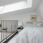 5-pat dormitor suspendat deasupra camerei garsoniera mansarda