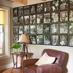 5-perete decorat cu fotografii de familie