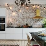 5-perete din caramida cu aspect brutal decor bucatarie scandinava eclectica