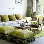 5-pernute decorative de podea decor living